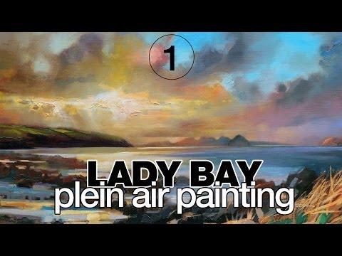Lady Bay, Stranraer PART 1/2: Large Plein Air Painting