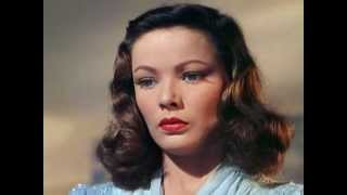 "♥ Gene Tierney ""Moment of Love"""