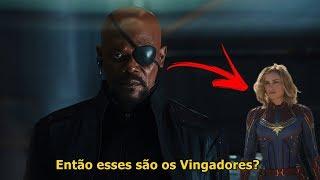 CAPITÃ MARVEL Já APARECEU ANTES e VOCÊ NUNCA PERCEBEU! (Informação Vazada)