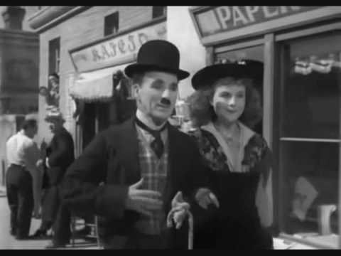 Charlie Chaplin & Paulette Goddard (Smile) Video
