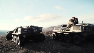 Jim Shockey and his ARGO - The Ultimate Outfitting Vehicle