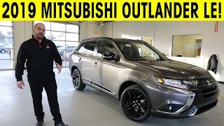 2019 Mitsubishi Outlander Limited Edition Exterior & Interior Walkaround