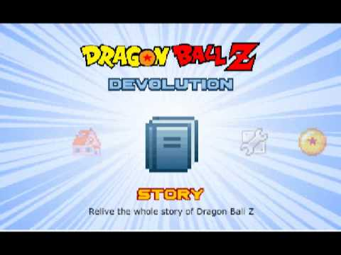 play Dragonball Z Devolution part 1 (hacked version)the training