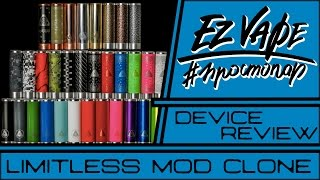 Limitless Mechanical Mod (clone) (fasttech.com) - Неудачный клон - Vape Storee From TLT