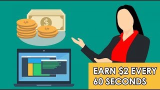 Earn $2 Every 60 Seconds Right Now Free PayPal Money (Worldwide)