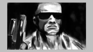 This IS ARNI! Speed Draw Terminator 1984.