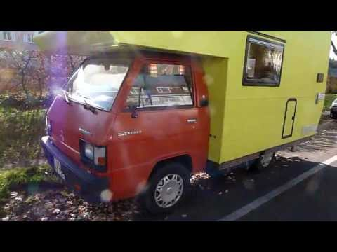 mitsubishi l 300 wohnmobil youtube. Black Bedroom Furniture Sets. Home Design Ideas