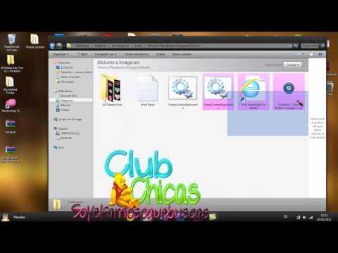 Como hacer una orbs para windows 7