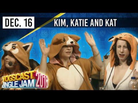BETTER OFF OMBRE w/ KIM, KAT & KATIE - YOGSCAST JINGLE JAM - 16th December 2016