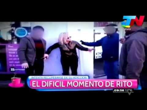 video de la supuesta recaída de María Eugenia Ritó con las drogas