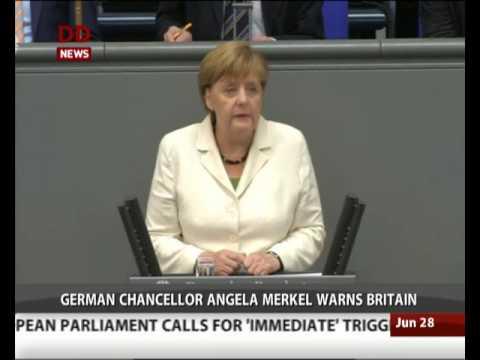 European Union can survive Brexit: Angela Merkel