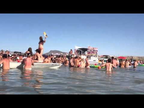 THE Sand Bar, Parker AZ Memorial Day Weekend 2012
