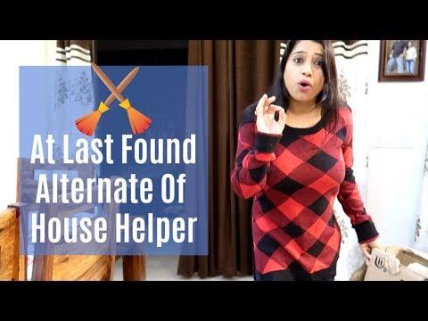 Vlog : At Last Found Alternate of House Helper | Indian Mom Studio