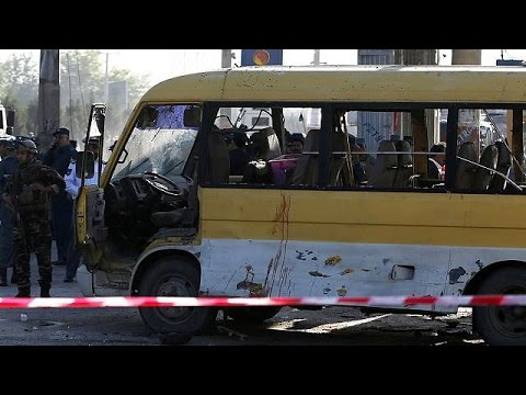Minibus blast kills several in Kabul