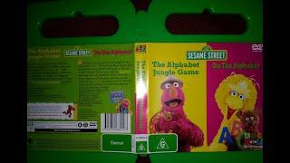 123 Sesame Street Home Video The Alphabet Jungle Game And Do The Alphabet DVD Australian 2006