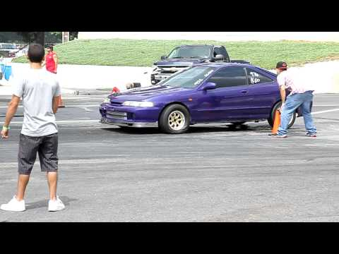 Acura Denver on Boosted Jdm Gsr Quarter Mile Run     Car Is Breaking Up Whole Way Down