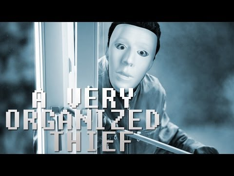 BEST HIRSIZ EVER! - A Very Organized Thief (Indie ÖdünÇalma Oyunu)