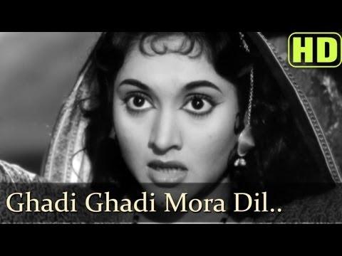 Ghadi Ghadi Meraa Dil - Madhumati Songs - Dilip Kumar - Vyjayantimala - Lata Mangeshkar video