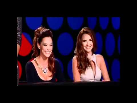 Nadine Coyle on America's Next Top Model Cycle 18 Ep 6