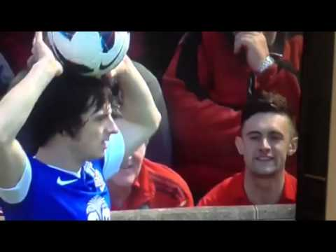Leighton Baines insult