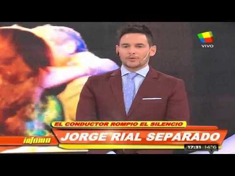 Jorge Rial: Estamos distanciados, pero enamorados
