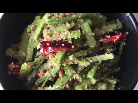 Goru chikkudu Nuvulu :) easy and simple recipe || saksh kitchen