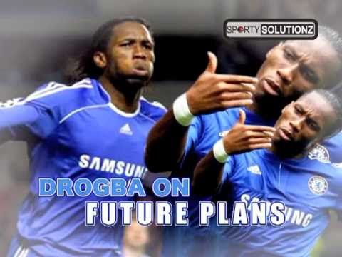DIDIER DROGBA TURNS EMOTIONAL FOR CHELSEA