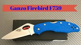 Ganzo Firebird F759M budget knife made in China 440C steel blade FRN scales