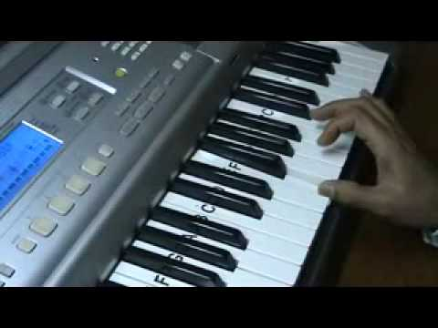 o hansini meri .. on keyboard by mmv