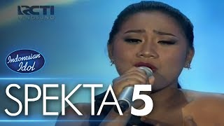 Maria  Note To God Jojo  Spekta Show Top 10  Indonesian Idol 2018
