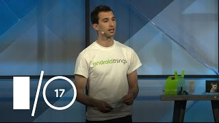 Using Google Cloud and TensorFlow on Android Things (Google I/O
