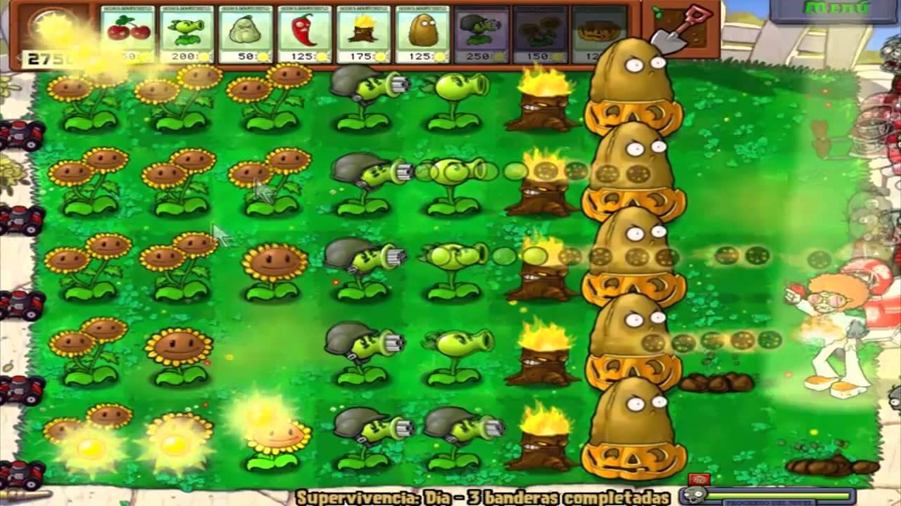 Прохождение Plants vs Zombies [Растения против Зомби