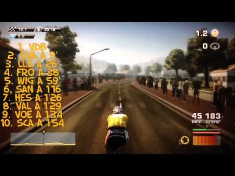 Tour de France 2012 PS3 Lotto Étape 10