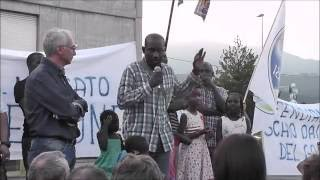 Italie | Elhadji Omar Gueye - Rappresentante della Comunità senegalese scledense