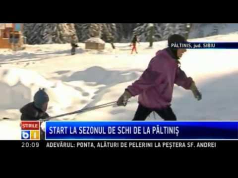 Start la sezonul de schi la Paltinis