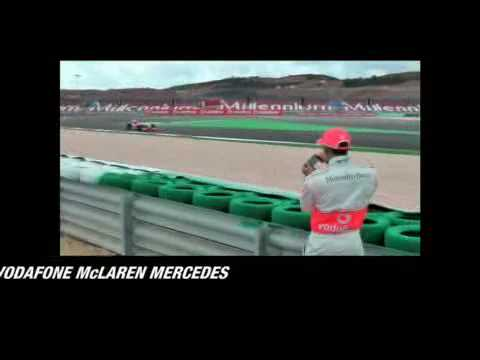 pixar cars 2 lewis hamilton. Lewis Hamilton Uses Blackberry Storm to Control Real F1 Car