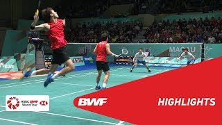 MACAU OPEN 2018 | Badminton MD - F - Highlights | BWF 2018