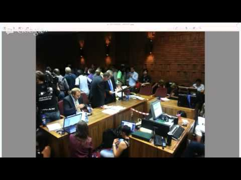 Oscar Pistorius Gets Bail - Magistrate Desmond Nair Hands Down