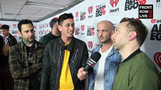 Rise Against on Fitting In and Punk Rock and Paintbrushes at iHeartRadio ALTer Ego 2019