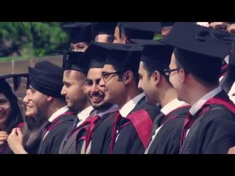Students from the Middle East and North Africa at the University of Birmingham