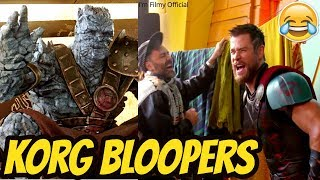 "Thor: Ragnarok ""KORG"" Bloopers and Gag Reel - Try Not To Laugh 2018"