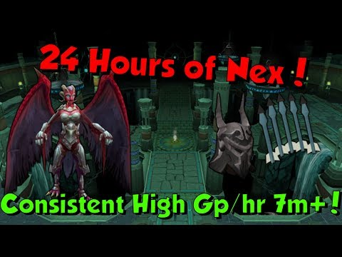 Loot from 24 Hours of Nex [Runescape 3] Consistent Money 7m+/hr