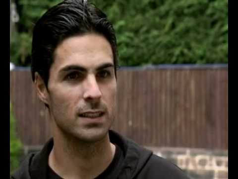 Mikel Arteta First Offical Interview after his move to Arsenal.