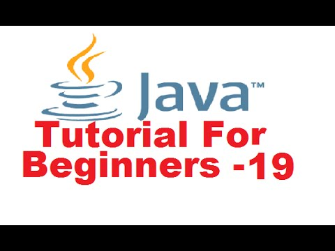 Java Tutorial For Beginners 19 - Class Constructor in Java