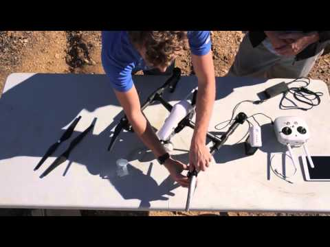DJI Inspire 1 Tutorial Part 1: Setting Up The Inspire 1