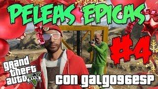 GTA V -Especial Navidad- Peleas Epicas #4 (Con Galgo96ESP)   MrWikky92