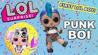 FIRST LOOK LOL Surprise Punk Boi Big Brother | L.O.L. Confetti Pop Series 3 Wave 2 Boy Tot