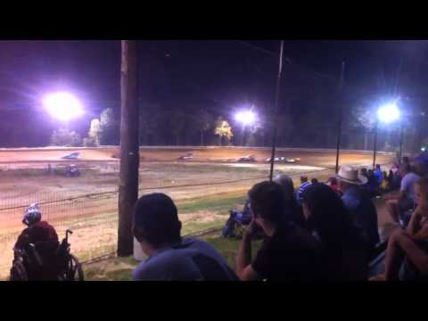 Jones Motor Speedway, Chatham LA, SUPR heat race 2