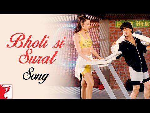 Bholi Si Surat Song | Dil To Pagal Hai | Shah Rukh Khan | Madhuri Dixit | Karisma | Lata | Udit