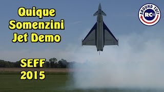 Quique Somenzini Thrust Vectoring Jet Demo SEFF 2015: Around Tuit RC